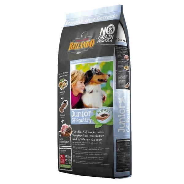 غذای خشک سگ بلکاندو مدل Junior GF Poultry وزن 1 کیلوگرم