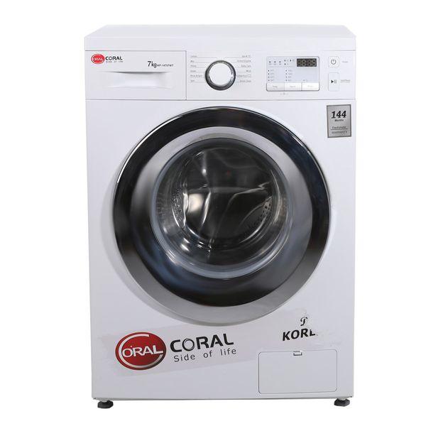 ماشین لباسشویی کرال مدلWF-14707 با ظرفیت 7 کیلوگرم