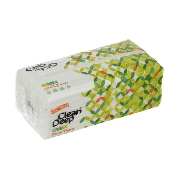 دستمال کاغذی 250 برگ دیپ کلین مدل 03