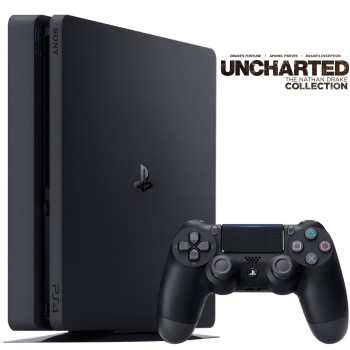 مجموعه کنسول بازی سونی مدل Playstation 4 Slim کد CUH-2016B Region 2 - ظرفیت 1 ترابایت | Sony Playstation 4 Slim Region 2 CUH-2016B 1TB Bundle Game Console