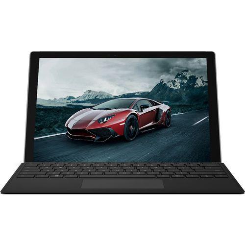 تبلت مایکروسافت مدل Surface Pro 2017 - F به همراه کیبورد Black Type Cover و کاور اس تی ام  مدل Dux