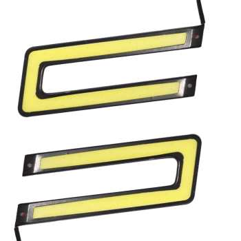 چراغ ال ای دی خودرو دی تایم رانینگ لایت مدل 14 سانتی متری