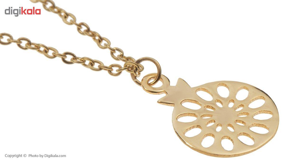 آویز ساعت طلا 18 عیار ماهک مدل MW0069 - مایا ماهک -  - 3