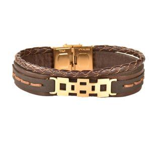 دستبند چرمی کهن چرم مدل BR158-7