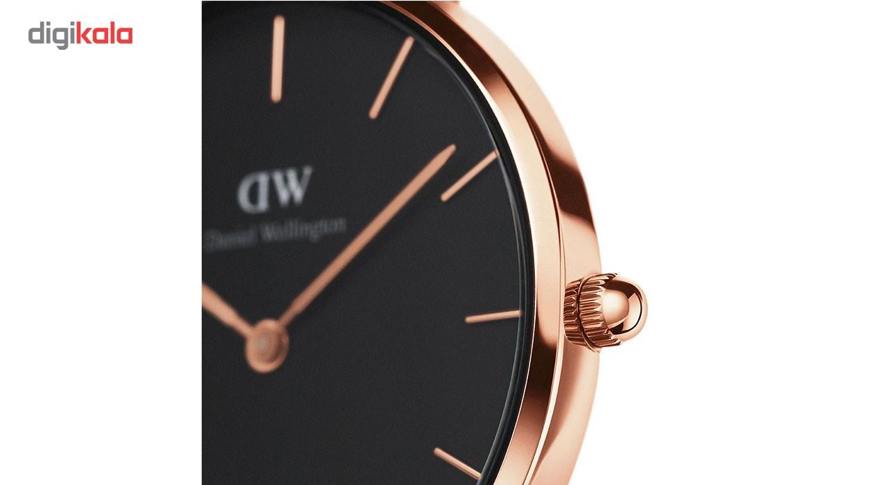 ساعت مچی عقربه ای زنانه دنیل ولینگتون مدل DW00100167