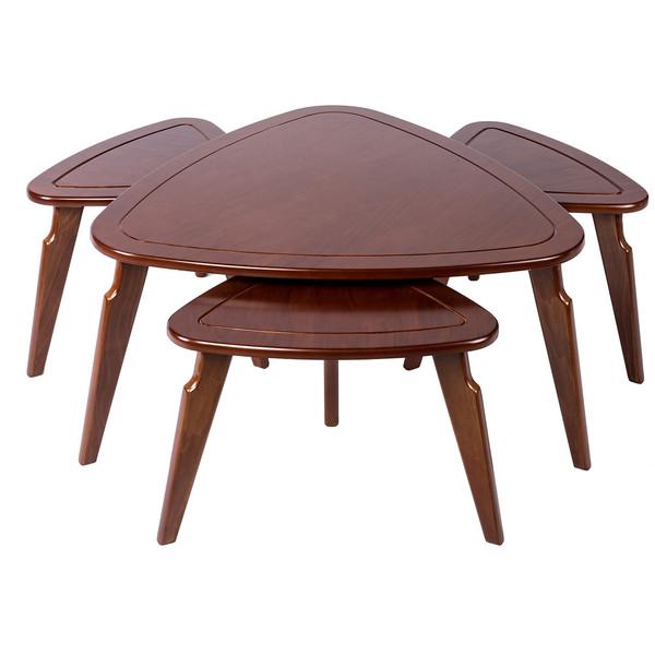 میز جلومبلی بالینکو مدل G50 به همراه 3 عدد میز عسلی