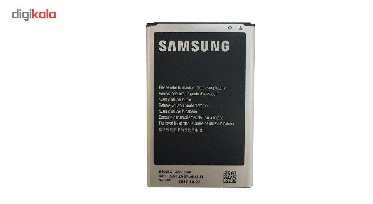 باتری موبایل  مدل B800BC با ظرفیت 3200mAh مناسب برای گوشی موبایل Galaxy Note 3 main 1 2