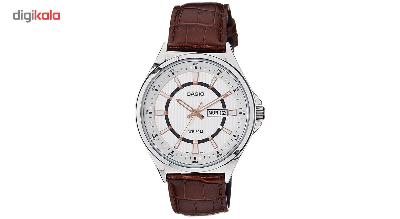خرید ساعت مچی عقربه ای مردانه کاسیو مدل MTP-E108L-7AVDF