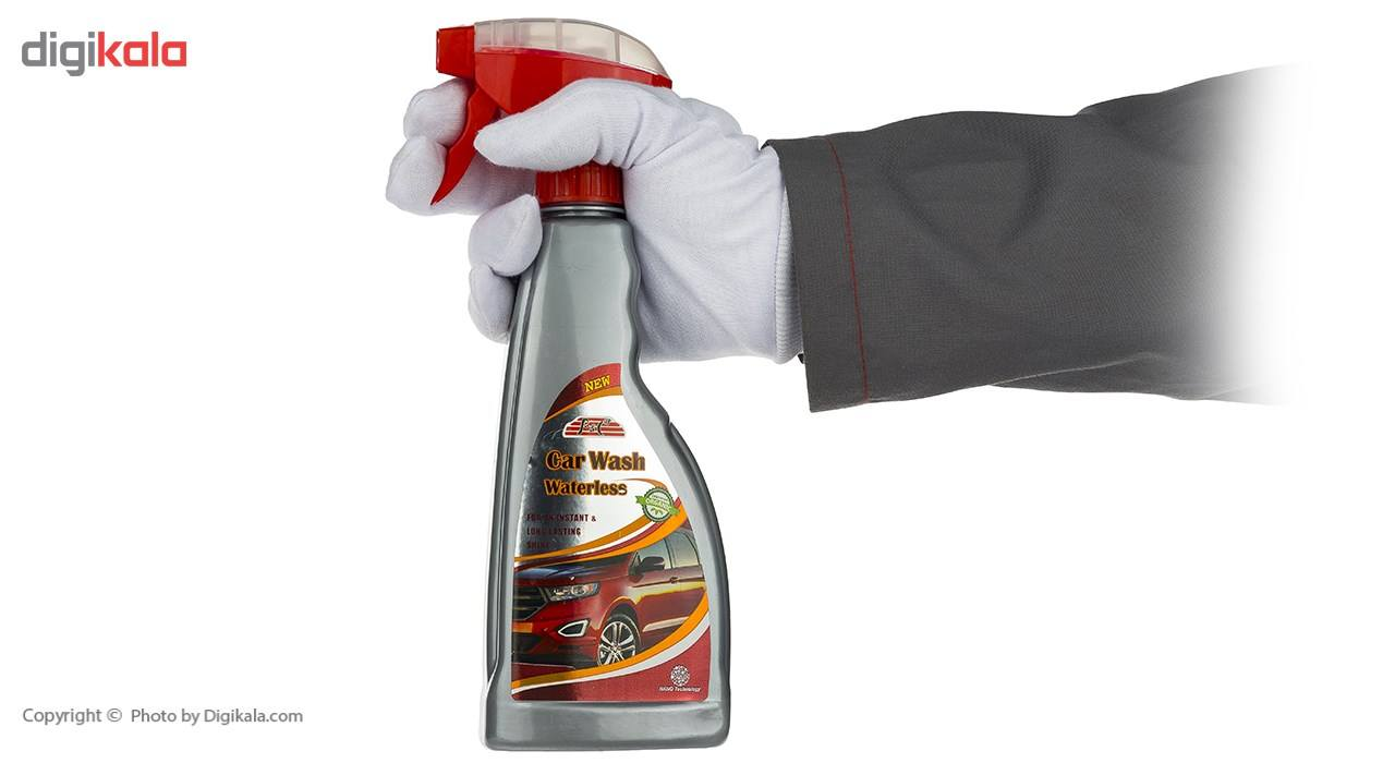 اسپری تمیز کننده بدنه خودرو پی اند سی مدل WaterLess حجم 500 میلی لیتر main 1 4