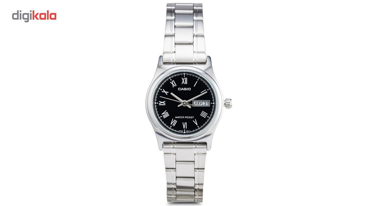 ساعت مچی عقربه ای زنانه کاسیو مدل LTP-V006D-1BUDF