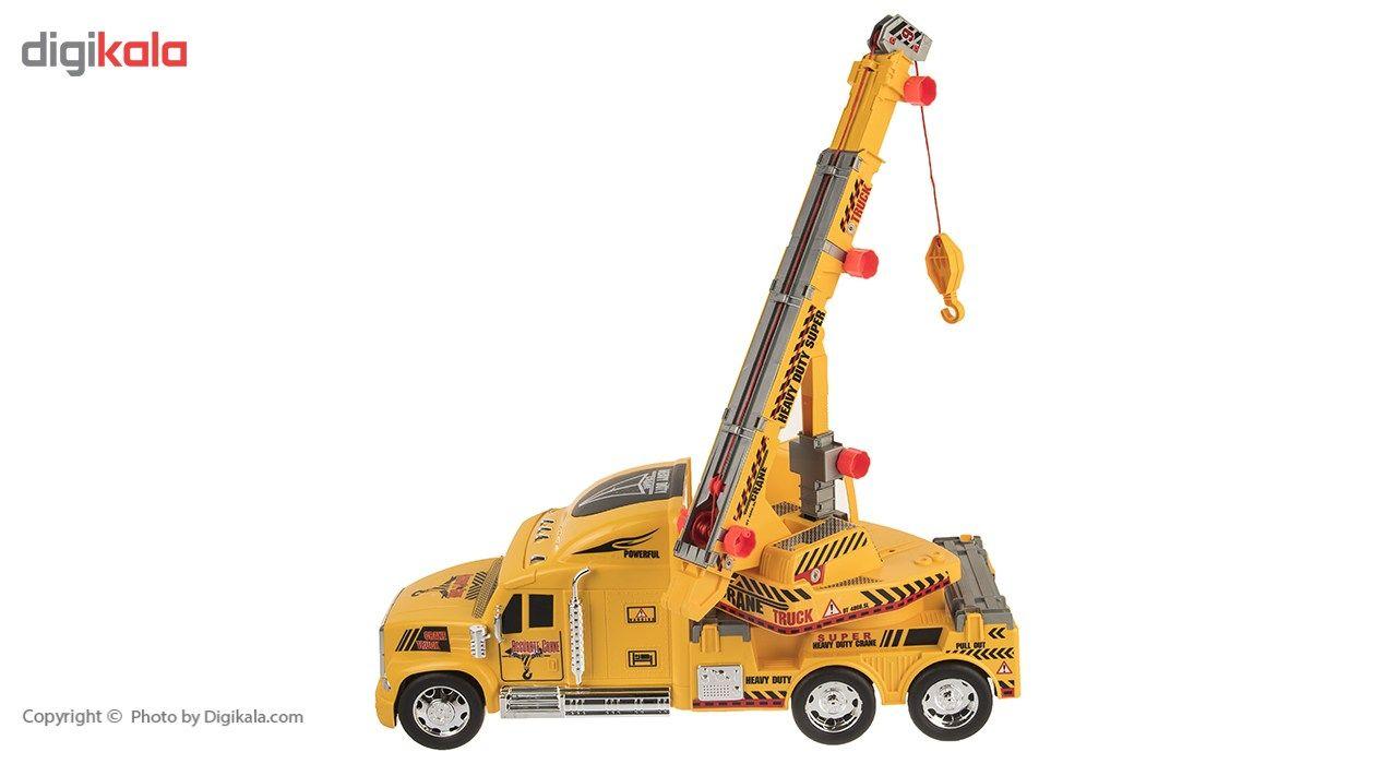 ماشین بازی درج توی مدل Truck Crane