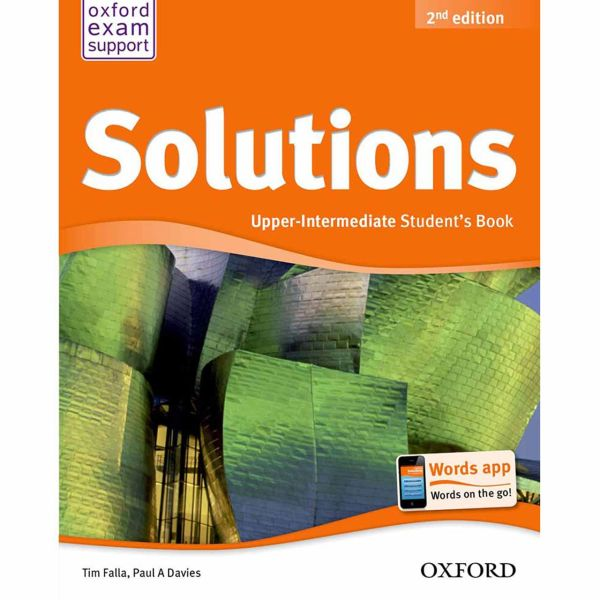 کتاب Solutions Upper Intermediate Book And Workbook اثر تیم فالا - دو جلدی
