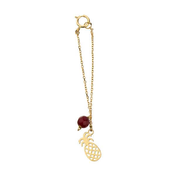 آویز ساعت طلا 18 عیار زنانه نیوانی مدل WP028
