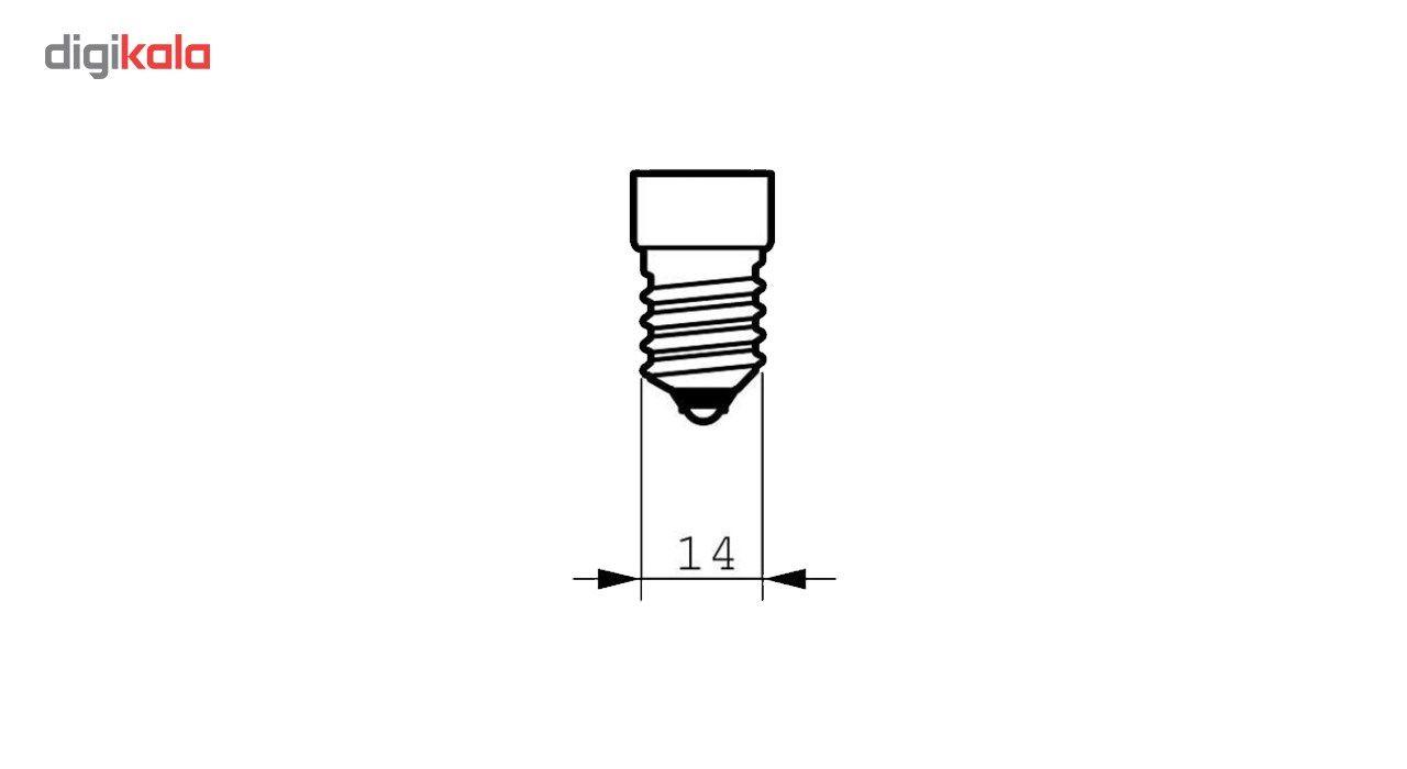 لامپ ال ای دی فیلامنت 4 وات دلتا مدل اشکی پایه E14  بسته 10 عددی main 1 3
