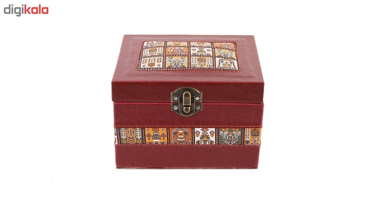 جعبه چرمی طهرانی طرح 7 کد 191009