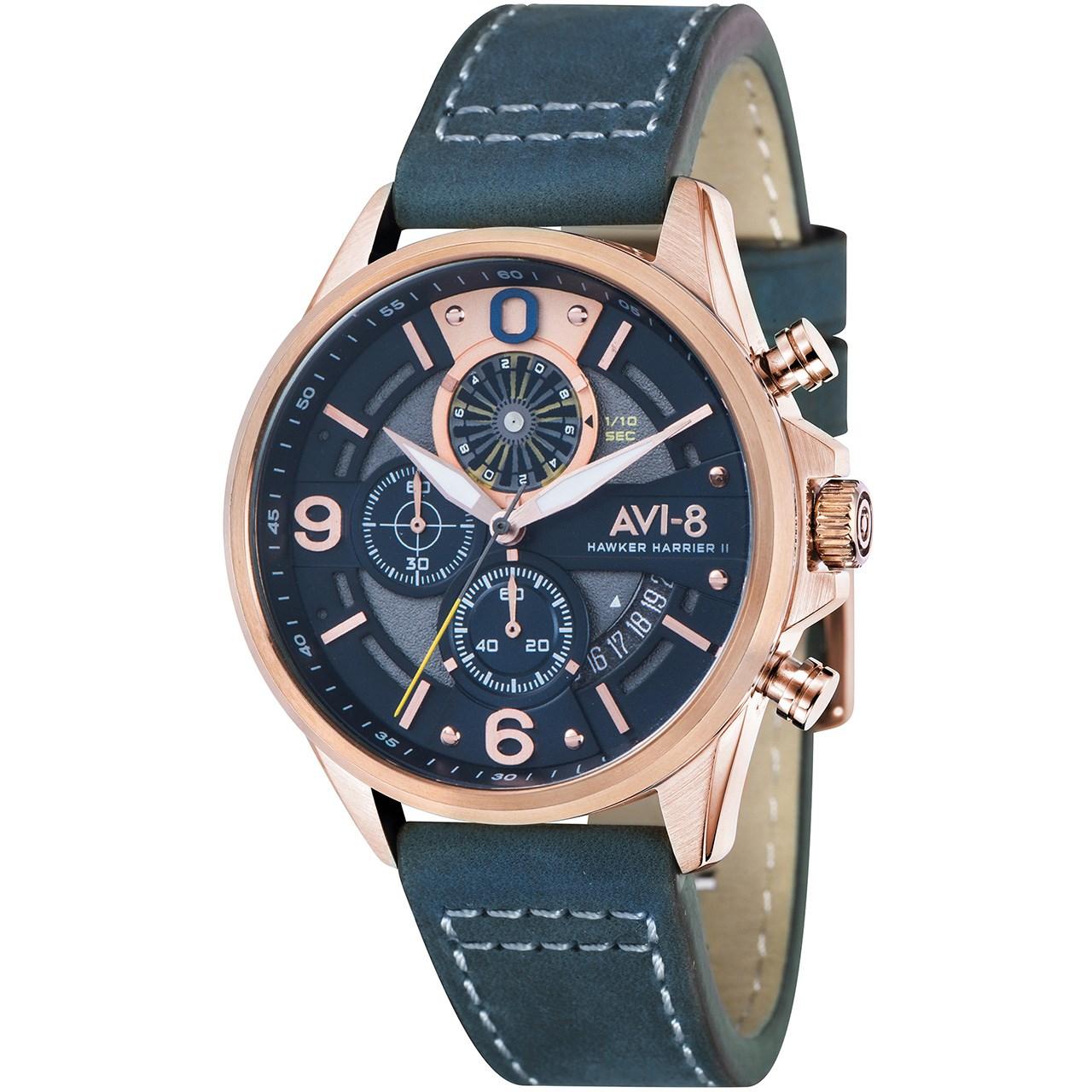 ساعت مچی عقربه ای مردانه ای وی-8 مدل AV-4051-04