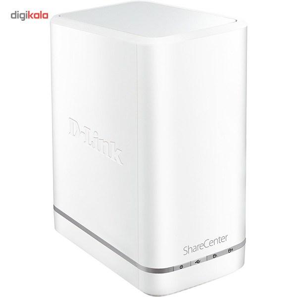 ذخیره ساز تحت شبکه 2Bay دی-لینک مدل DNS-327L