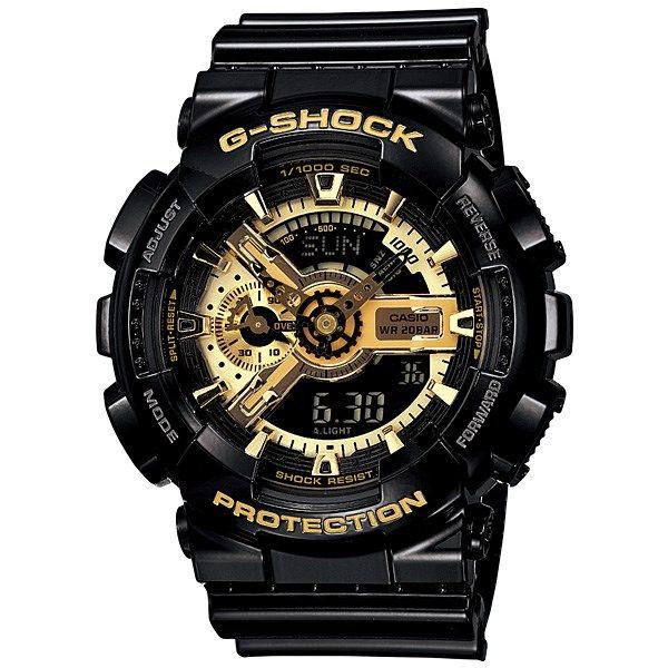 ساعت مچی عقربه ای مردانه کاسیو جی شاک Casio G Shock GA 110GB 1ADR |