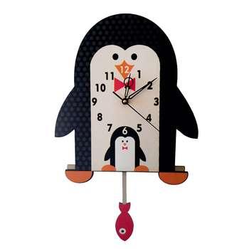 ساعت دیواری کودک جیک جیک مدل پنگوئن