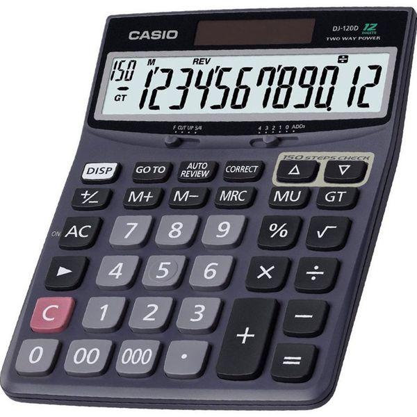 ماشین حساب کاسیو DJ-120-D | Casio DJ-120 D Calculator
