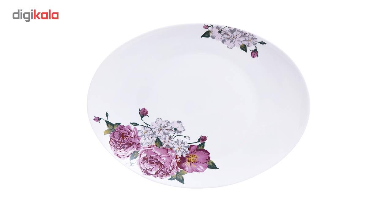 سرویس غذاخوری 28 پارچه پارس اوپال مدل Lavender