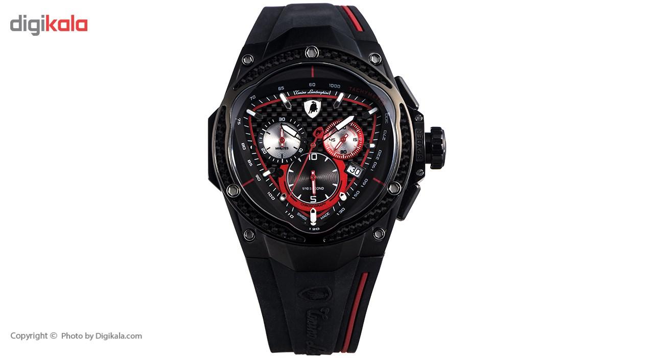 خرید ساعت مچی عقربه ای مردانه تونینو لامبورگینی مدل TL-RedLine-05