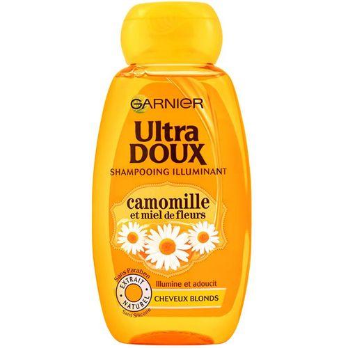 شامپو ترمیم کننده و تغذیه کننده مو گارنیه سری Ultra Doux مدل Honey And Chamomile حجم 400 میلی لیتر