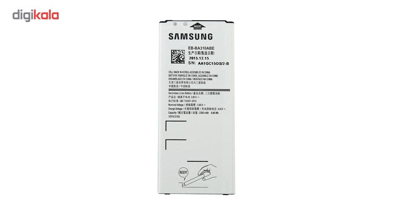 باتری موبایل مناسب برای سامسونگ مدل Galaxy A3 2016 با ظرفیت 2300mAh main 1 1
