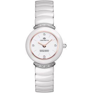 ساعت مچی عقربه ای زنانه کوین واچ مدل C162SWH