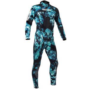 تن پوش غواصی مردانه سی اک ساب مدل Body Fit Camo با ضخامت 1.5 میلی متر