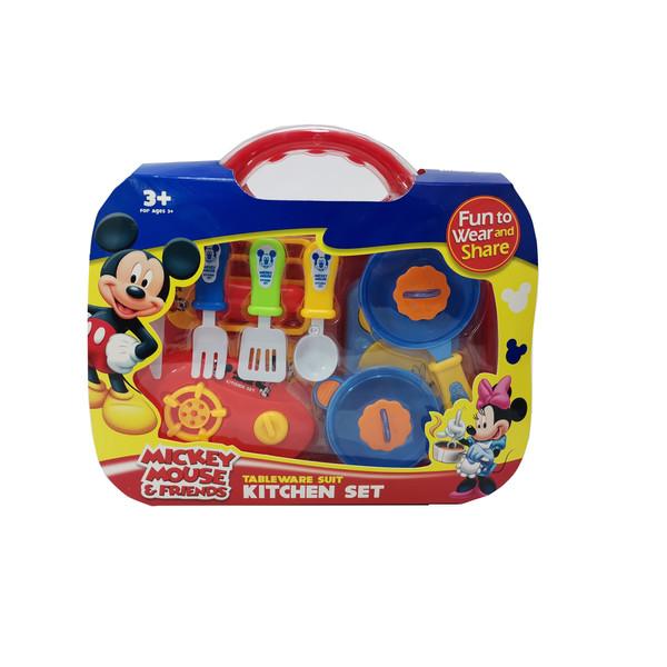 ست اسباب بازی ظروف آشپزخانه میکی موس کد MY-693