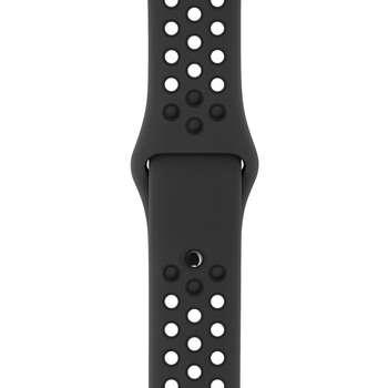 بند لاستیکی اپل مدل Nike Sport Band S/M M/L مناسب برای اپل واچ 42 میلی متری