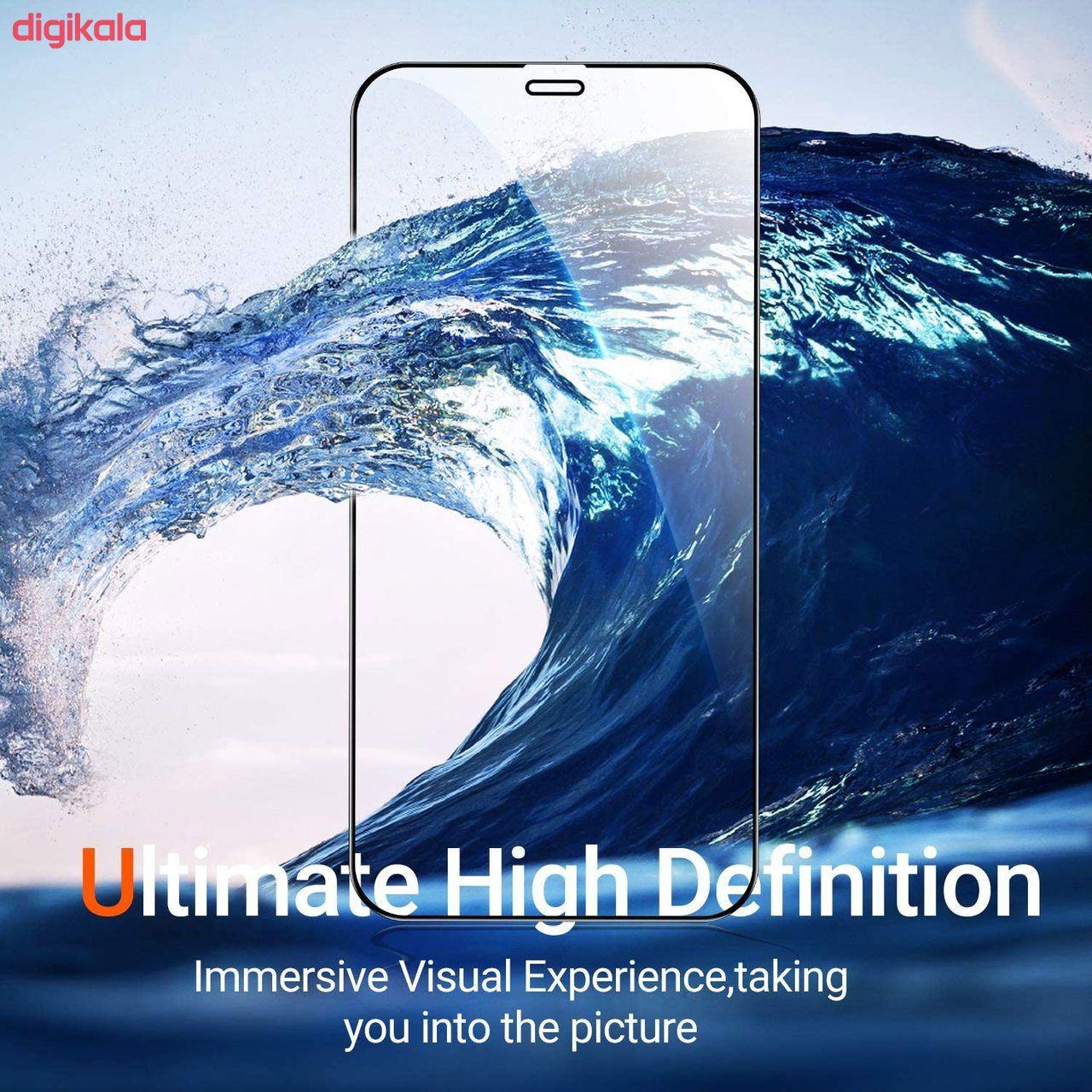 محافظ صفحه نمایش مدل FCG مناسب برای گوشی موبایل اپل iPhone 12 mini بسته دو عددی main 1 13