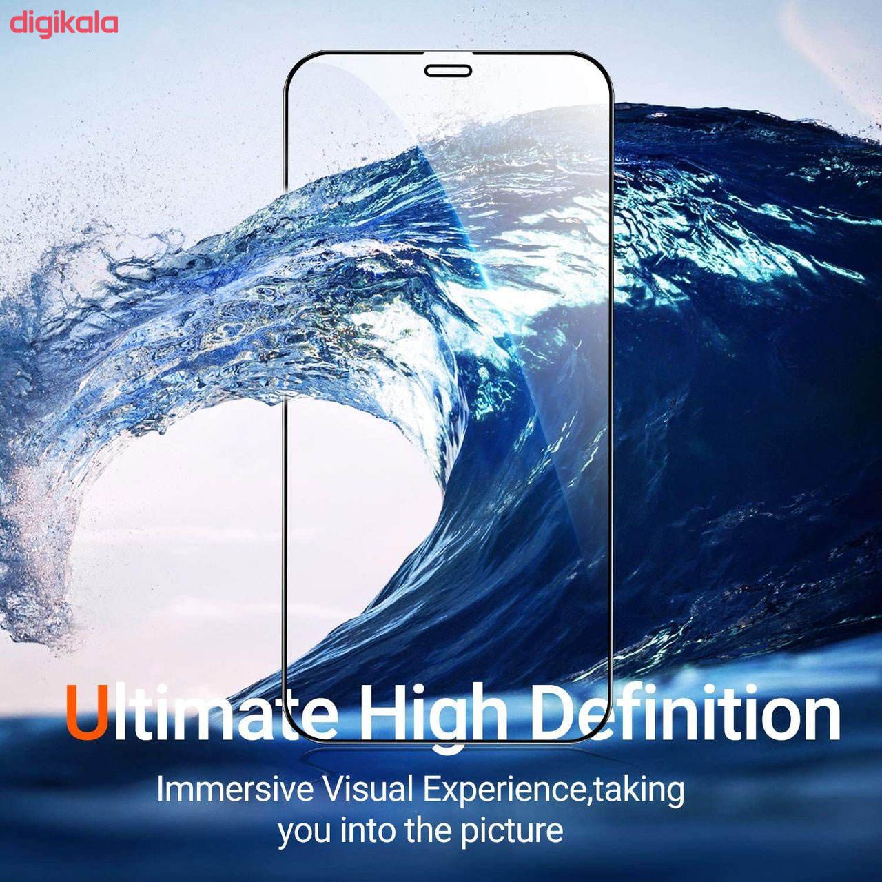محافظ صفحه نمایش مدل FCG مناسب برای گوشی موبایل اپل iPhone 12 Pro بسته دو عددی main 1 13
