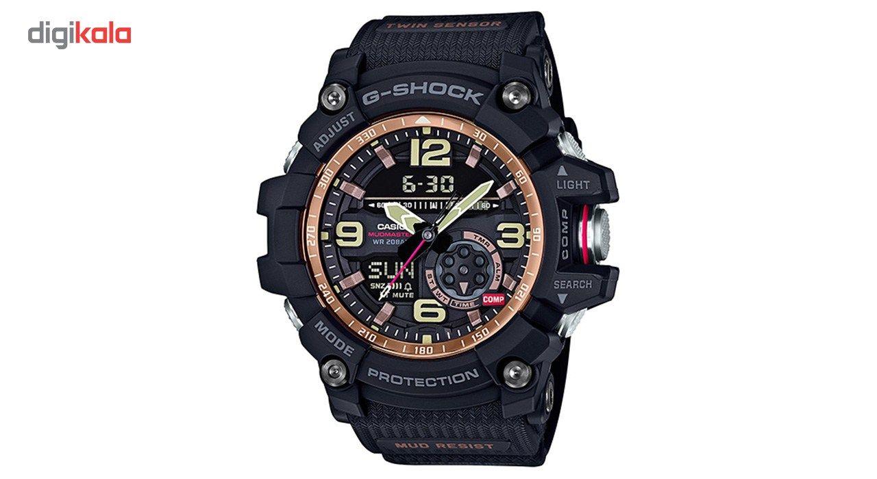 خرید ساعت مچی عقربه ای مردانه کاسیو جی شاک مدل GG-1000RG-1ADR