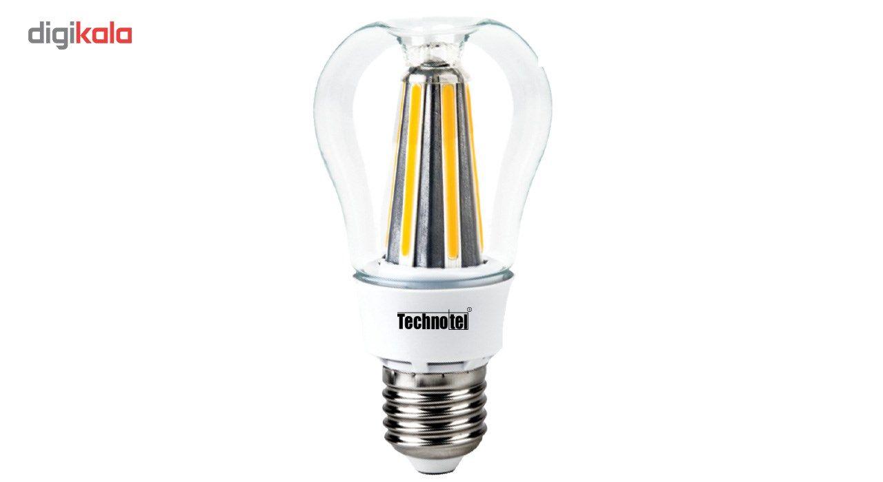 لامپ ال ای دی فیلامنتی 8 وات تکنوتل مدل  308 پایه E27 main 1 1