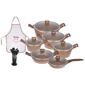 سرویس پخت و پز 19 پارچه دسینی مدل Pietra