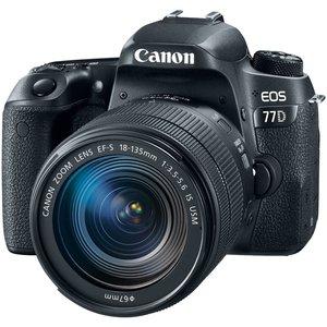 دوربین دیجیتال کانن مدل EOS 77D به همراه لنز 18-135 میلی متر IS USM