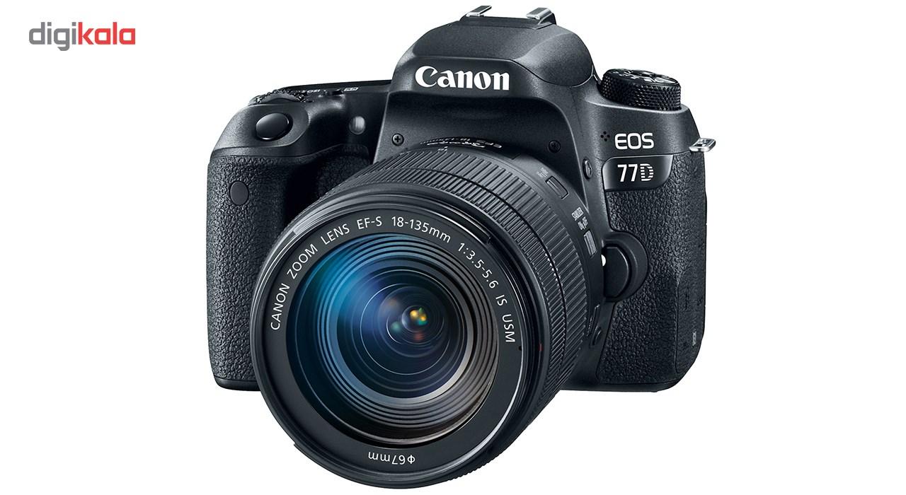 دوربین دیجیتال کانن مدل EOS 77D به همراه لنز 18-135 میلی متر IS USM main 1 1