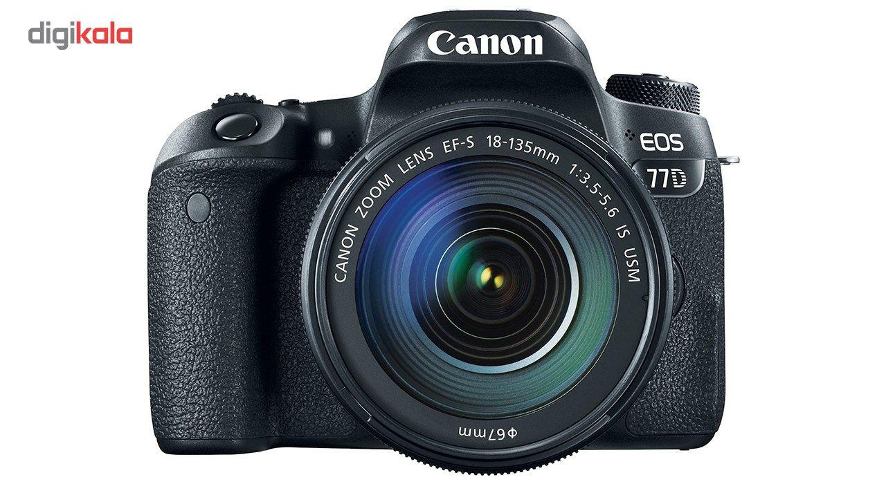 دوربین دیجیتال کانن مدل EOS 77D به همراه لنز 18-135 میلی متر IS USM main 1 2