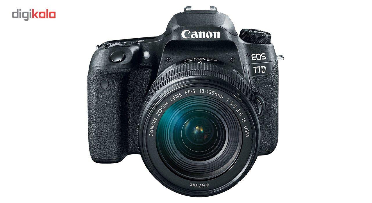 دوربین دیجیتال کانن مدل EOS 77D به همراه لنز 18-135 میلی متر IS USM main 1 3