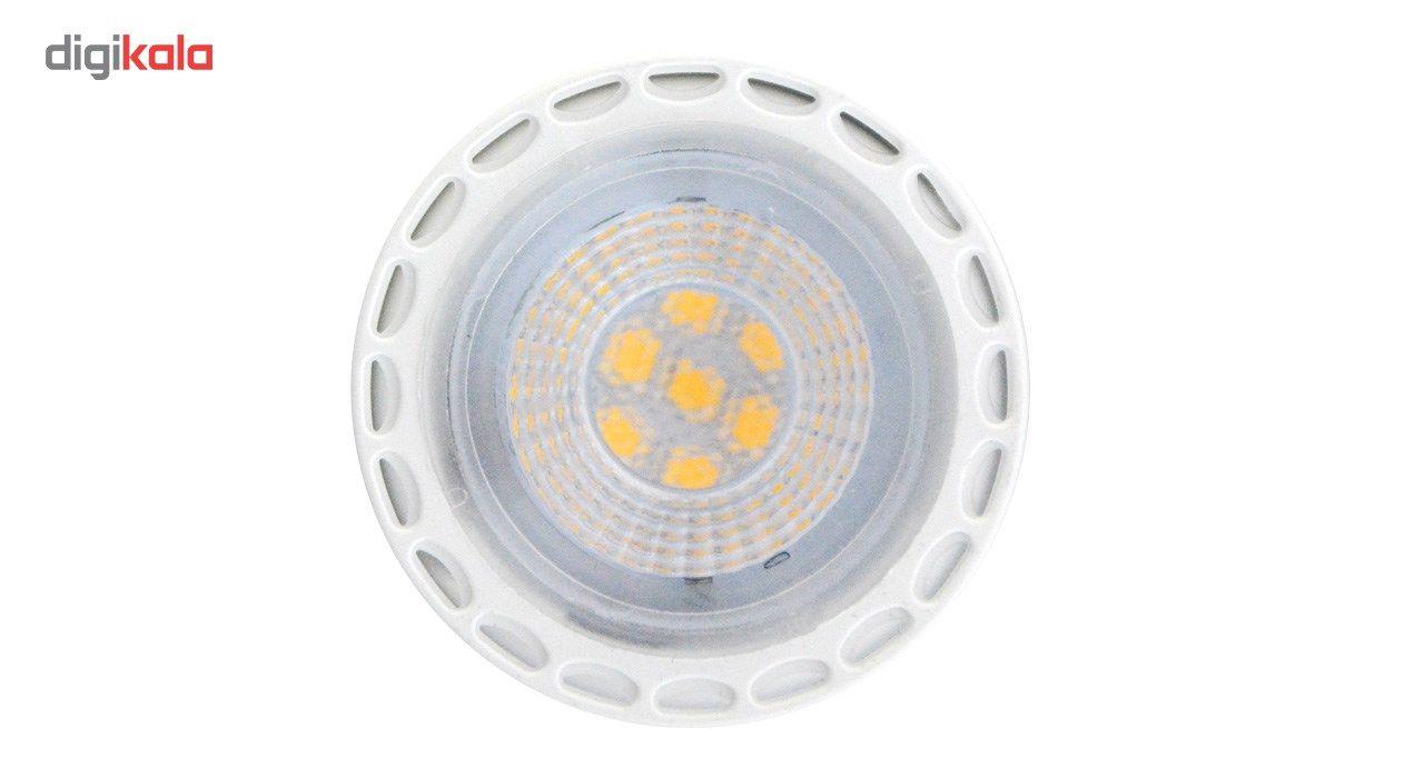 لامپ ال ای دی 7 وات تکنوتل مدل 1807 پایه GU5.3 بسته 5 عددی main 1 2