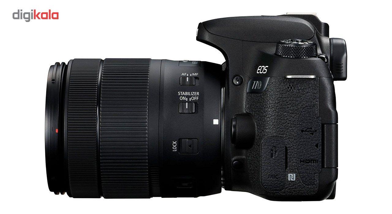 دوربین دیجیتال کانن مدل EOS 77D به همراه لنز 18-135 میلی متر IS USM main 1 7