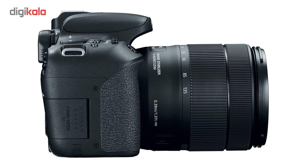 دوربین دیجیتال کانن مدل EOS 77D به همراه لنز 18-135 میلی متر IS USM main 1 8