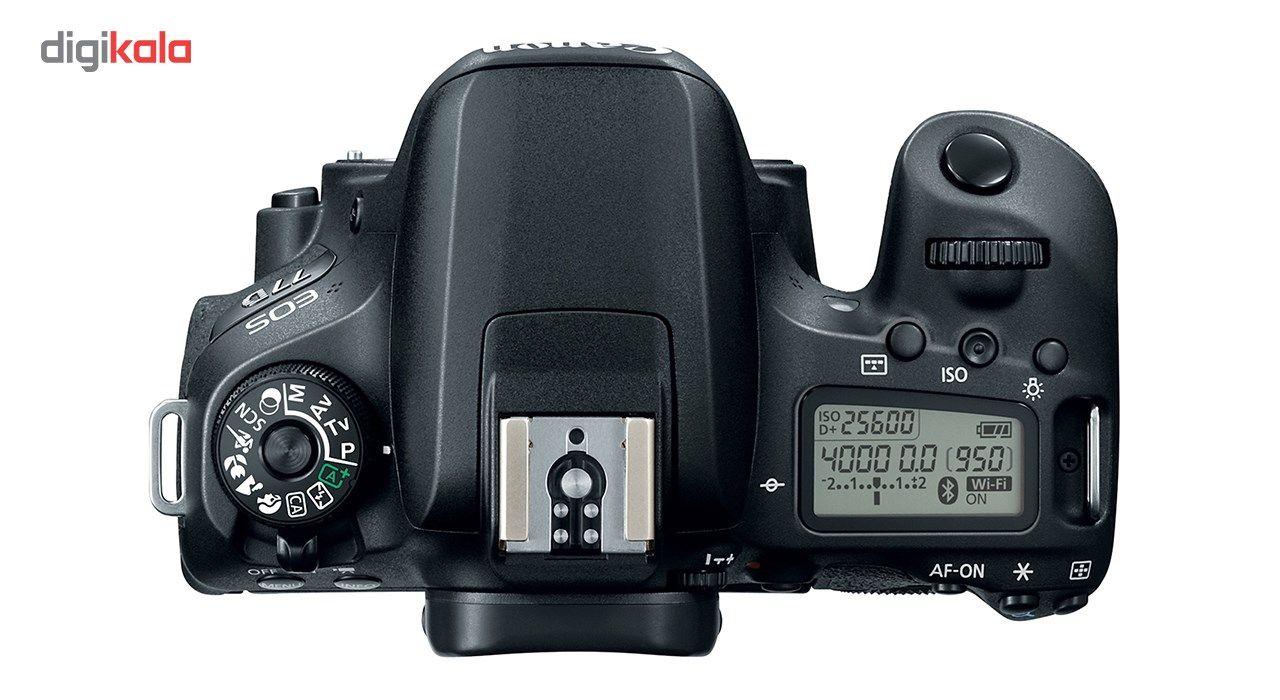 دوربین دیجیتال کانن مدل EOS 77D به همراه لنز 18-135 میلی متر IS USM main 1 9