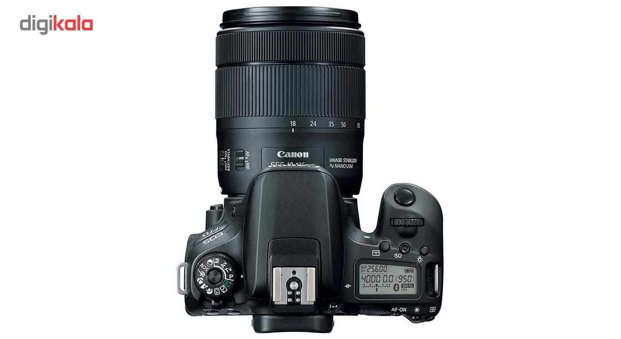 دوربین دیجیتال کانن مدل EOS 77D به همراه لنز 18-135 میلی متر IS USM main 1 10