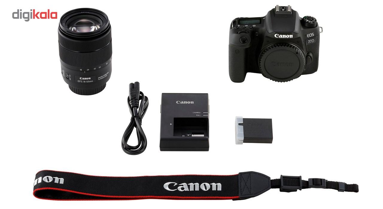 دوربین دیجیتال کانن مدل EOS 77D به همراه لنز 18-135 میلی متر IS USM main 1 11