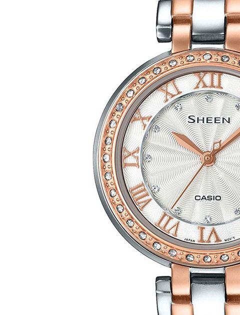 ساعت مچی عقربه ای زنانه کاسیو مدل SHE-4034BSG-7AUDR -  - 2