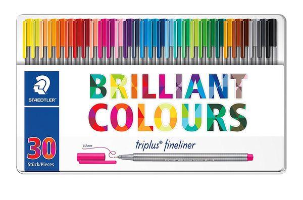 روان نویس 30 رنگ استدلر مدل Triplus Brilliant Colours کد 334 M30