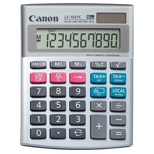 ماشین حساب کانن مدل  LS-103TC